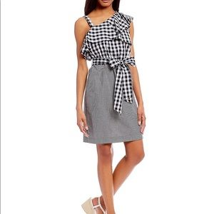 NWT Calvin Klein gingham dress sz 10